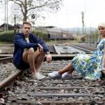 Anna und Hans, Fotoshooting im Heilbronner Eisenbahnmuseum