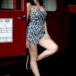 Diana, Fotoshooting im Heilbronner Eisenbahnmuseum