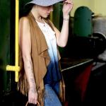 Anna, Fotoshooting im Heilbronner Eisenbahnmuseum