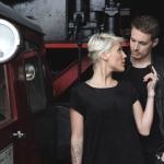 Anna & Hans, Fotoshooting im Heilbronner Eisenbahnmuseum